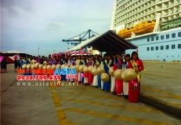 Đồng hành cùng Saigontourist tổ chức thành công sự kiện Đón Tàu Quantum of the seas và đoàn khách quốc tế